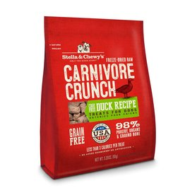 Stella & Chewy's Duck Recipe Freeze Dried Carnivore Crunch, 3.25 oz