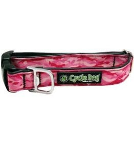 Cycle Dog Collar Camo Pink Large