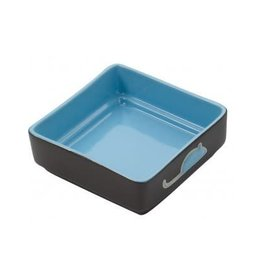 Ethical Pet Four Square Cat Dish Blue 5""