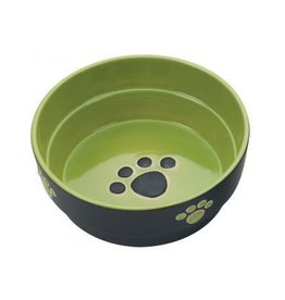 Ethical Pet Fresco Dog Dish Green 7in
