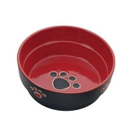 Ethical Pet Fresco Dog Dish Red 7in