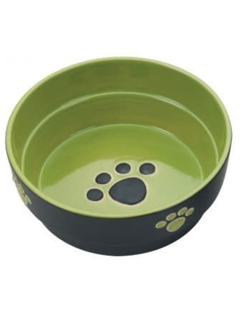 Ethical Pet Fresco Dog Dish Green 5in