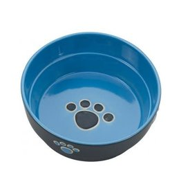 Ethical Pet Fresco Dog Dish Blue 7in