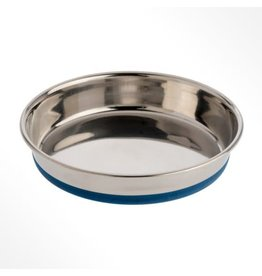 OurPets Premium Rubber-Bonded Stainless Steel Dish 16oz