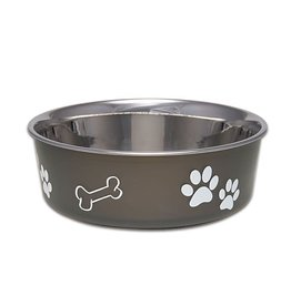 Loving Pets Bella Bowls Classic – Espresso Medium