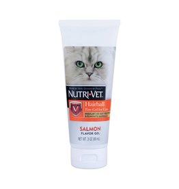 Nutri-Vet Hairball Paw Gel For Cats 3 oz Salmon Flavor
