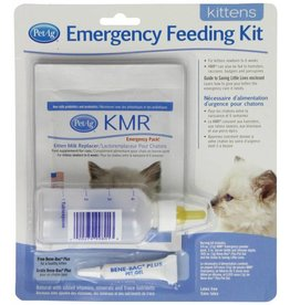 Pet Ag KMR Cat Milk Replacement Emergency Feeding Kit