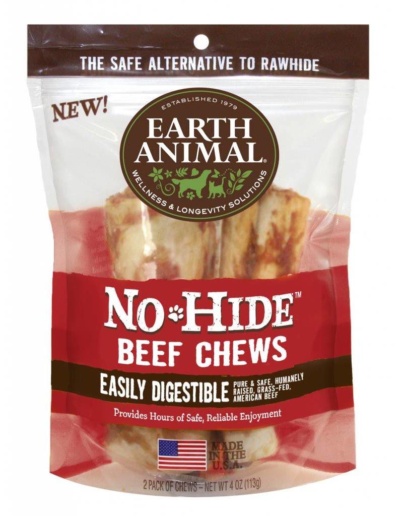 Earth Animal No Hide Beef Small 2pk