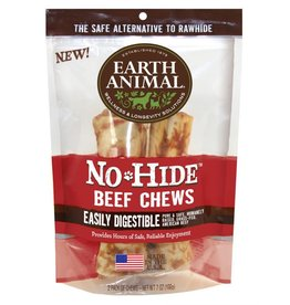 "Earth Animal No Hide Beef Chews 7"" 2 Pk"