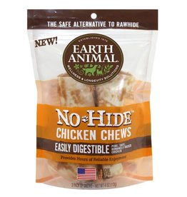 "Earth Animal No Hide Chicken Chews 4"" 2 Pk"