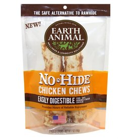 "Earth Animal No Hide Chicken Chews 7"" 2 Pk"