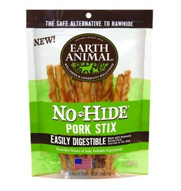 Earth Animal No Hide Pork Chew Stix 10 Pk