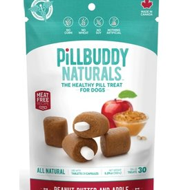Complete Natural Nutrition Pill Buddy Naturals Peanut Butter & Apple 30ct