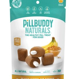 Complete Natural Nutrition Pill Buddy Naturals Peanut Butter & Banana 30ct