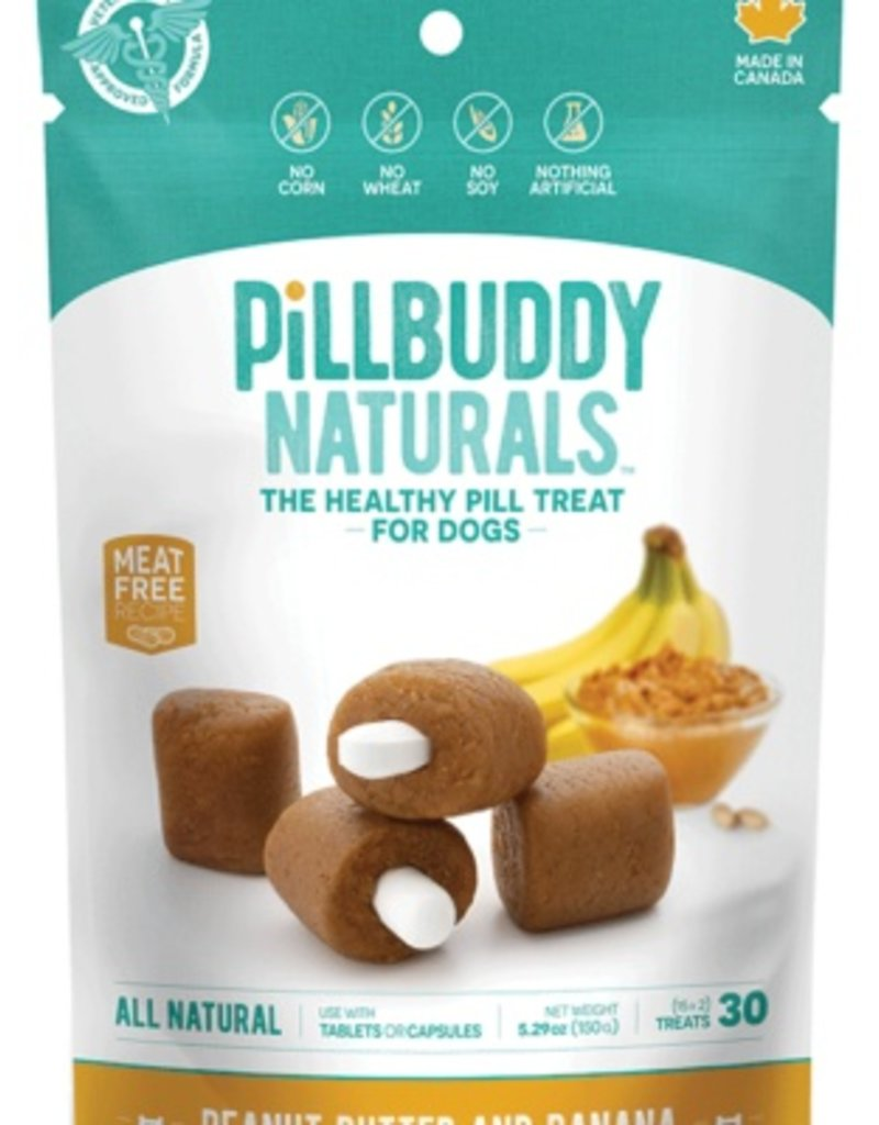 Presidio Pill Buddy Naturals Peanut Butter & Banana 30ct