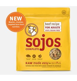 Sojo's Sojo's Food Dog Adult Complete Beef 1.75#