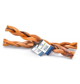 Barkworthies Bully Stick - Braided - 12""
