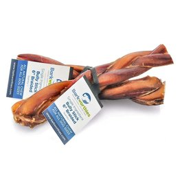 Barkworthies Bully Stick - Braided - 6""