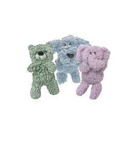 Multipet Aromadog Fleece Assorted Colors Dog Toy 6in