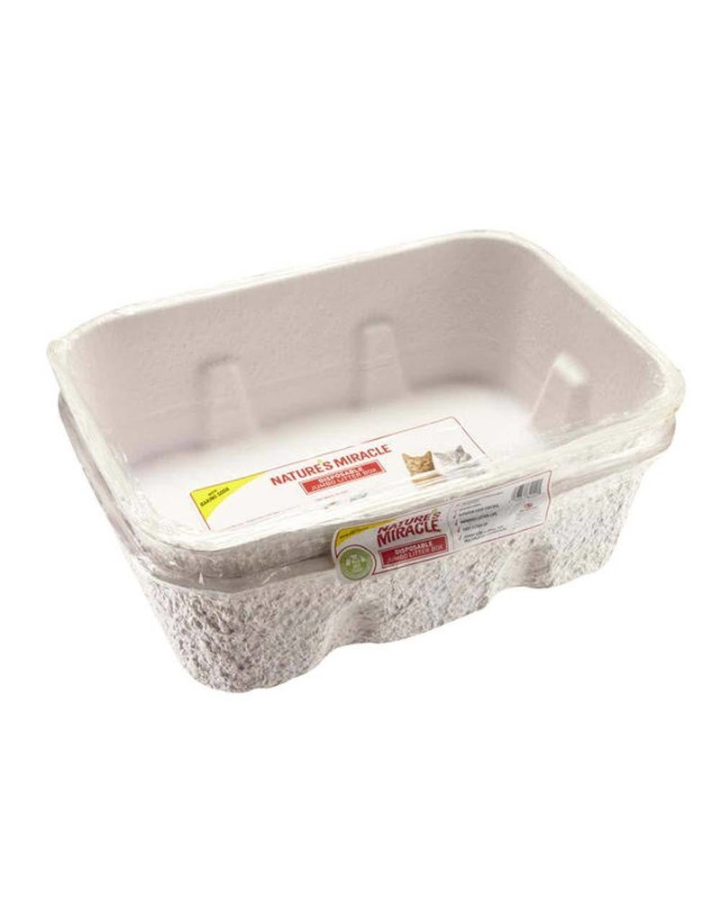 Nature's Miracle Jumbo Disposable Litter Pan 2pk