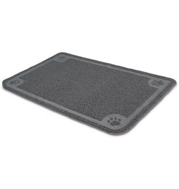 Petmate Litter Catcher Mat Gray X-Large
