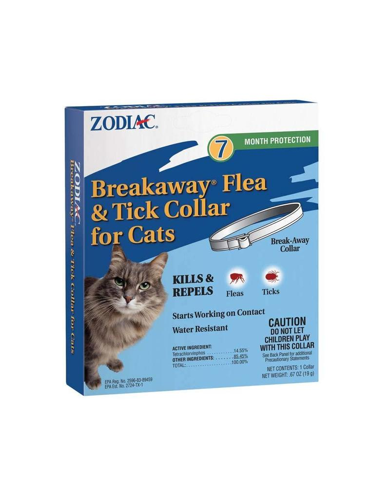 Zodiac Flea & Tick Collar 7 Month Protection Cat