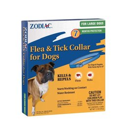 Zodiac Flea & Tick Collar 7 Month Protection Large Dog