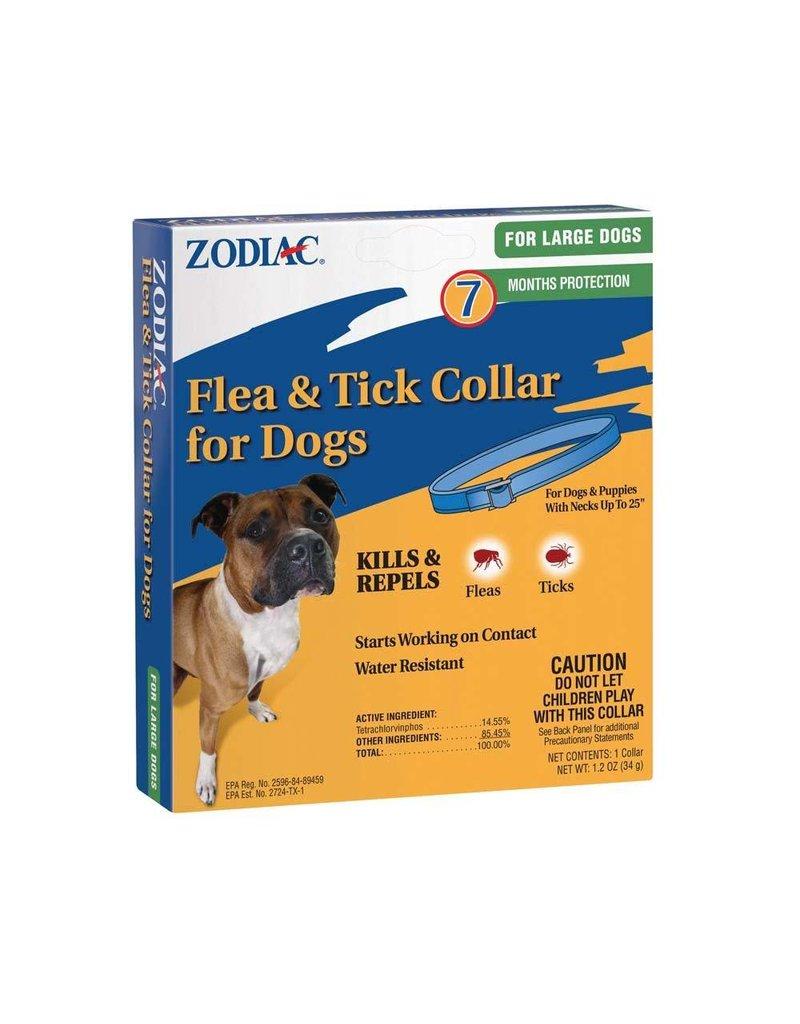 Zodiac Flea & Tick Collar 7 Month Protection Large Dog