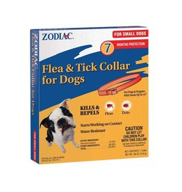 Zodiac Flea & Tick Collar 7 Month Protection Small Dog