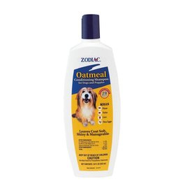 Zodiac Flea and Tick Oatmeal Shampoo Dog 18oz
