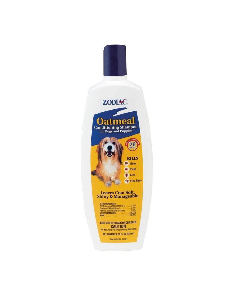 Zodiac Flea & Tick Oatmeal Shampoo for Dogs 18oz