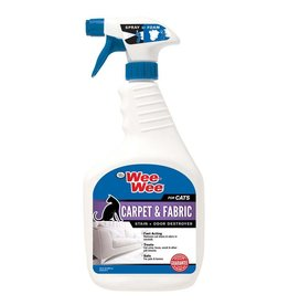 Wee-Wee Cat Carpet & Fabric Stain & Odor Destroyer 32oz