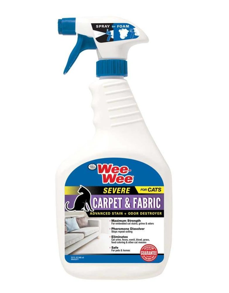 Wee-Wee Cat Carpet & Fabric Severe Stain & Odor Destroyer 32oz