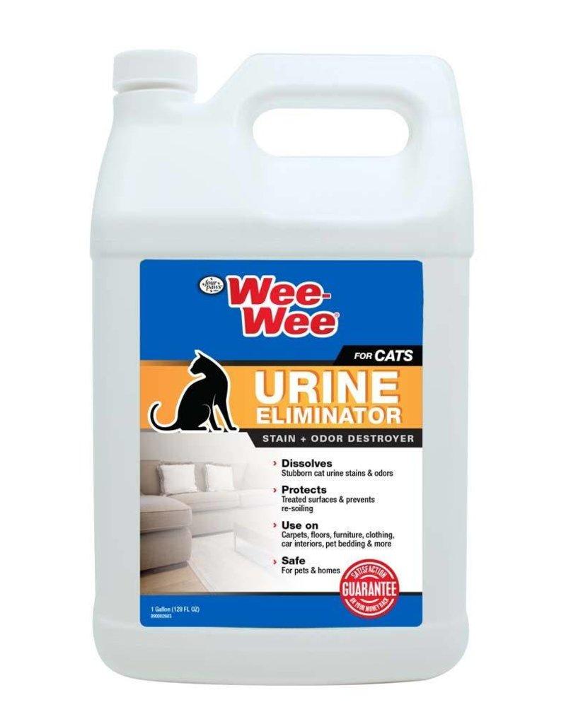 Wee-Wee Cat Urine Eliminator Stain & Odor Destroyer 128oz