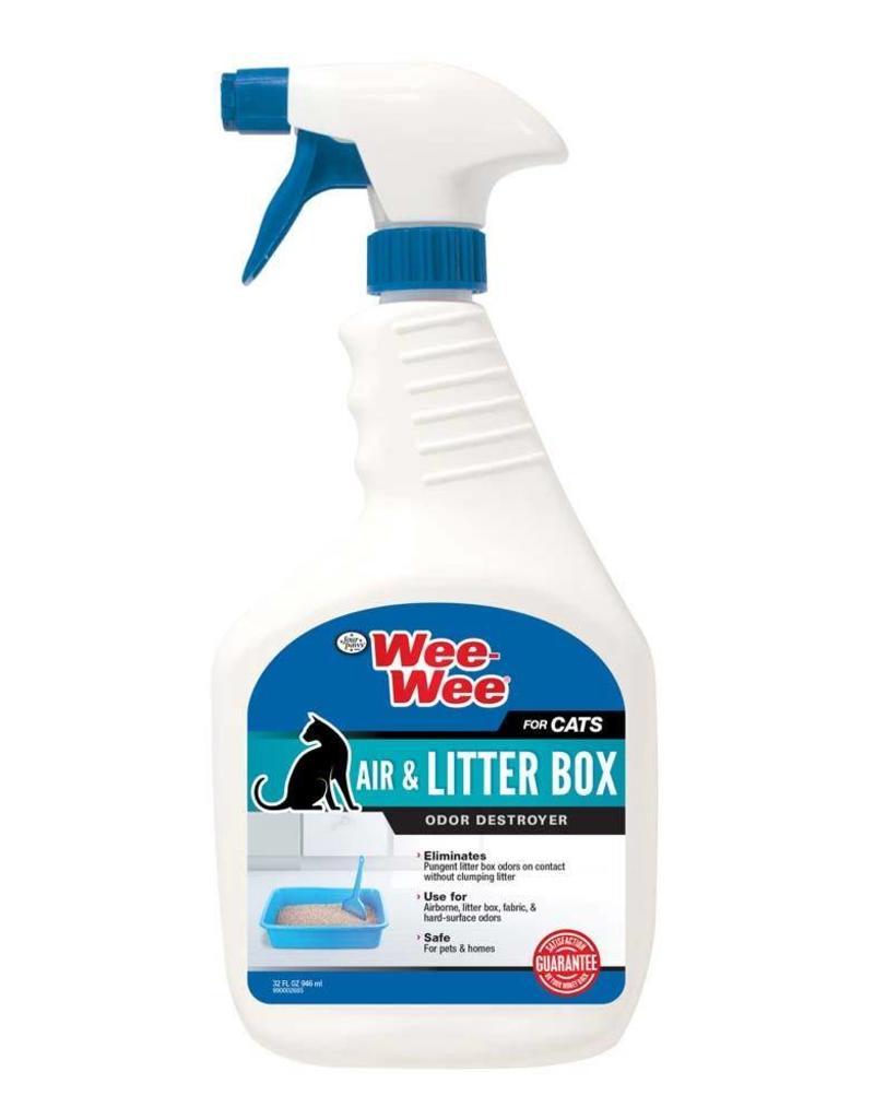 Wee-Wee Cat Air & Litter Box Odor Destroyer 32oz