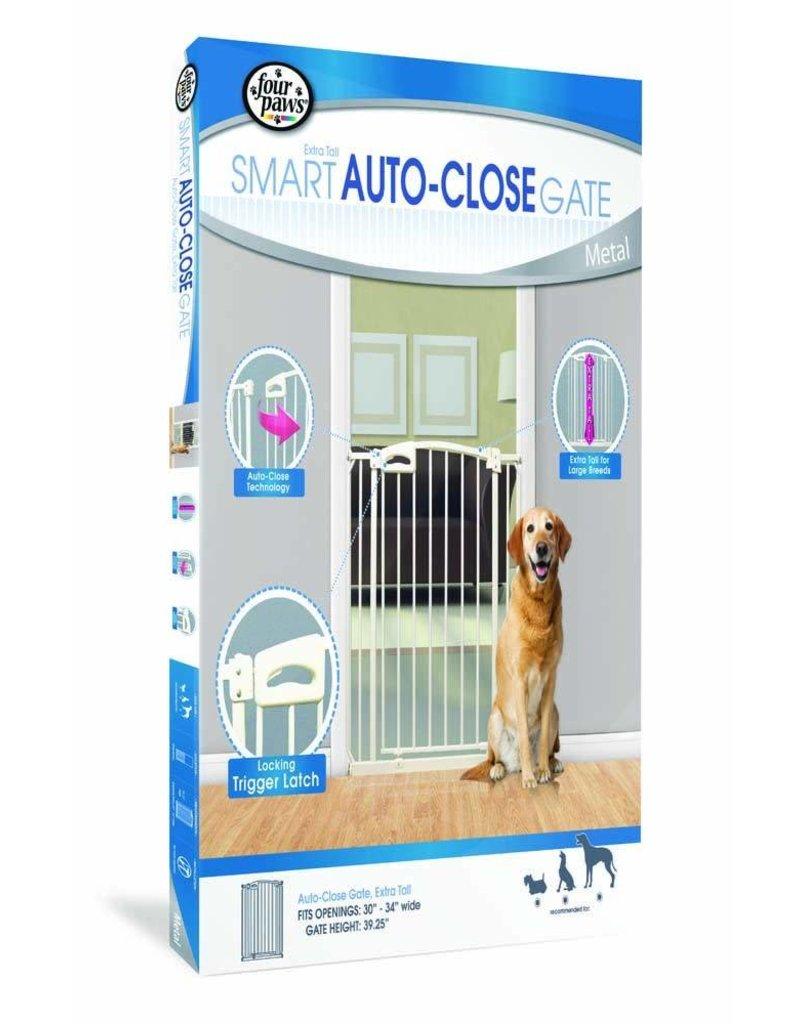 Four Paws Auto-Close Gate Extra Tall