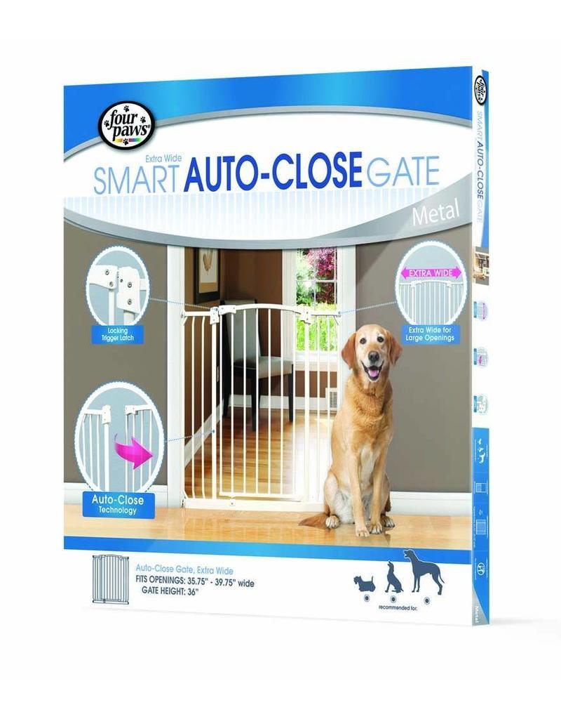 Four Paws Auto-Close Gate Extra Wide