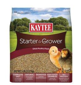 KayTee Chicken Starter Grower Crumble, 5lb