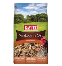 KayTee Mealworms and Oats Treat, 3lb