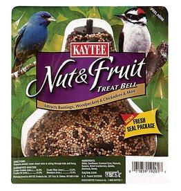 KayTee Nut And Fruit Seed Treat Bell, 15oz