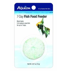 Aqueon 3-Day Tropical Freshwater Fish Food Feeder 1pk