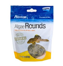 Aqueon Algae Rounds Fish Food 3oz pouch