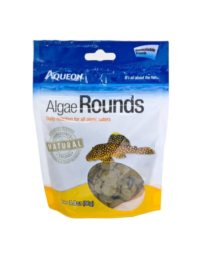 Aqueon Algae Rounds Fish Food 3oz