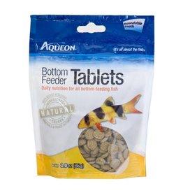 Aqueon Bottom Feeder Tablets Fish Food Pouch 3oz