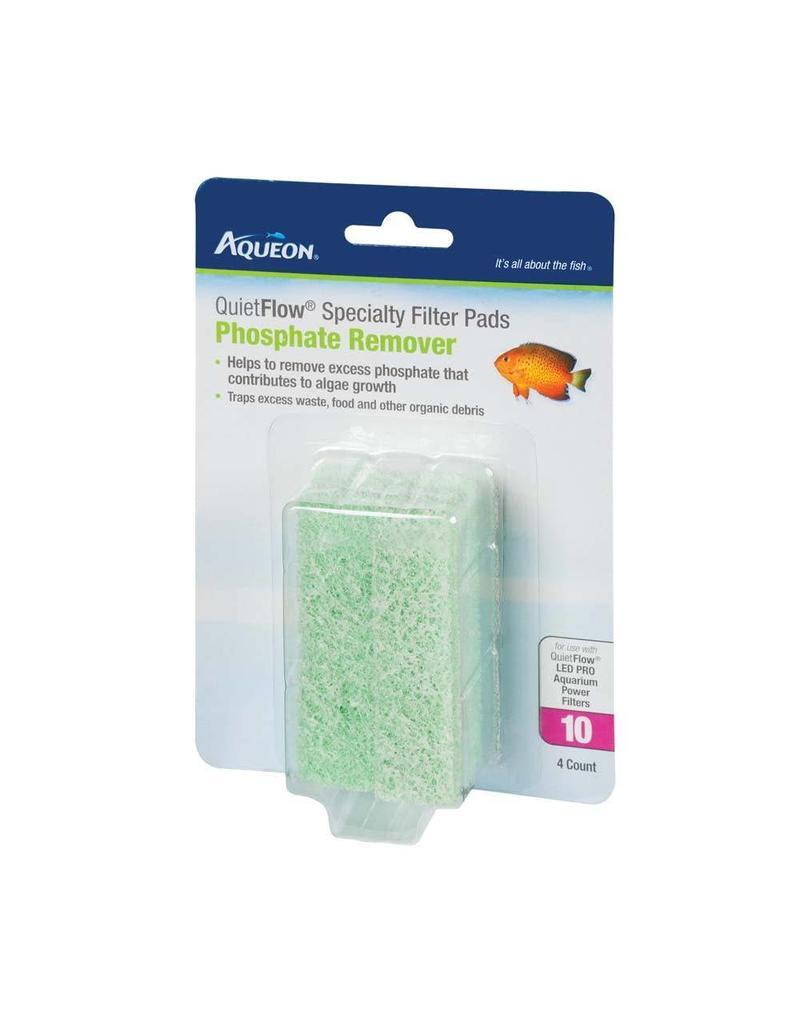 Aqueon QuietFlow 10 Specialty Filter Pads Phosphate 4pk