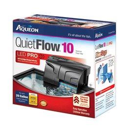 Aqueon QuietFlow 10 LED Pro Aquarium Power Filter 10-20gal