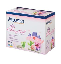 Aqueon Princess Castle Desktop Aquarium Kit .5gal