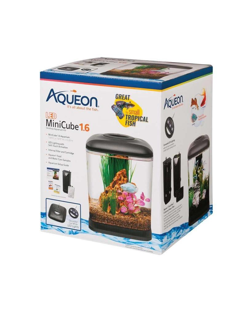 Aqueon LED MiniCube Desktop Aquarium Kit 1.6gal