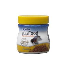 Aqueon Betta Fish Food .95oz Jar