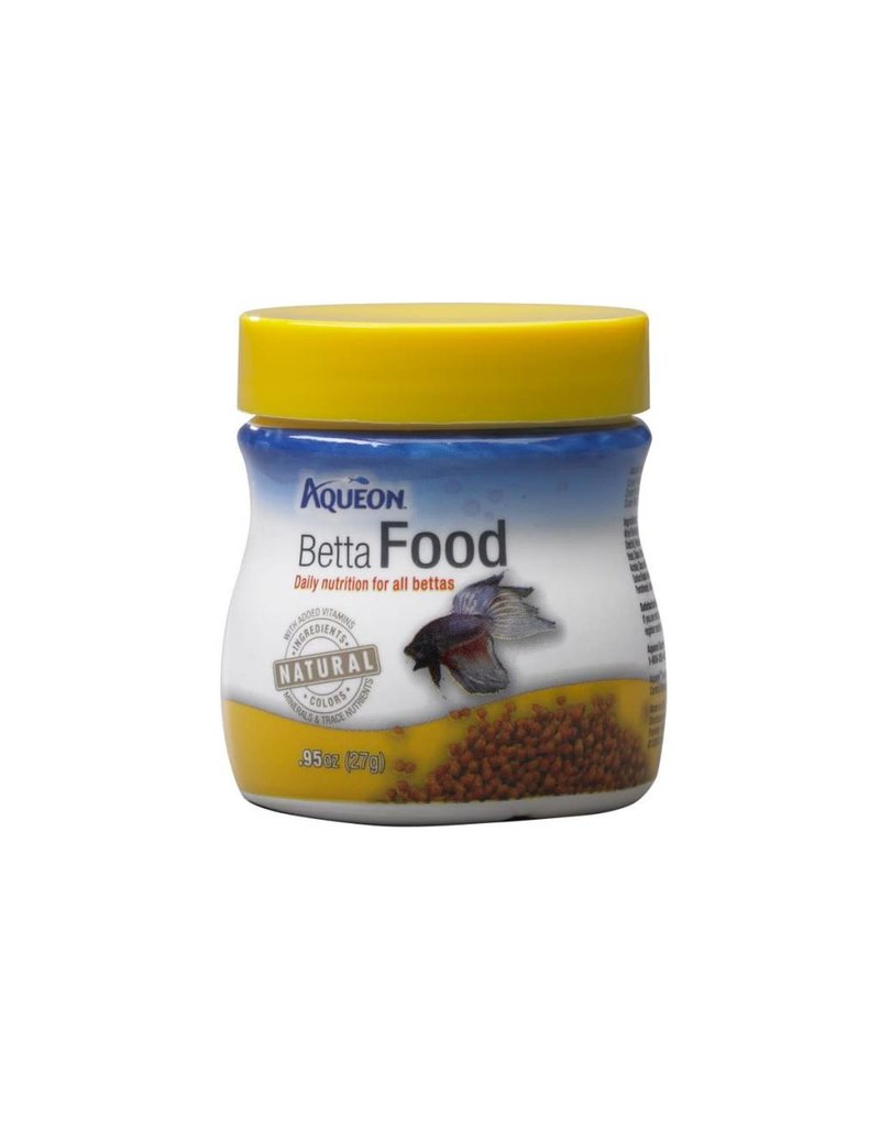 Aqueon Betta Fish Food .95oz